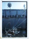 Разрушенное окно фабрики Стоковые Фото