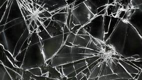 Разрушенное окно черно-белое Стоковая Фотография RF