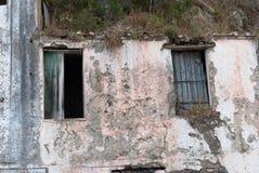 Разрушенное окно Стоковые Изображения RF