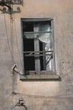 Разрушенное окно Стоковое Фото
