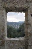 Разрушенное окно Стоковые Фотографии RF