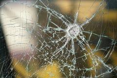 Разрушенное окно Стоковое фото RF