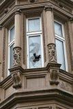 Разрушенное окно Стоковая Фотография