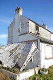 Разрушенное покинутое покинутый домой Стоковые Фотографии RF