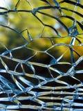 разрушенное стекло Стоковое Изображение