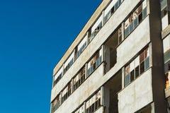 Разрушенные и получившиеся отказ фабрики communistic эры стоковое фото rf