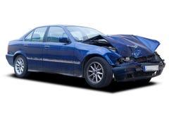 разрушенный автомобиль Стоковые Изображения