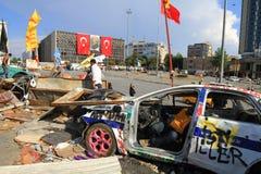 Разрушенный автомобиль Стоковое Фото