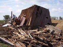 разрушенный амбар Стоковые Фотографии RF