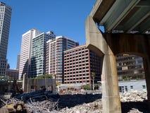разрушенный городской хайвей san francisco Стоковые Изображения RF