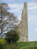 Разрушенный замок в Ирландии Стоковое Изображение RF