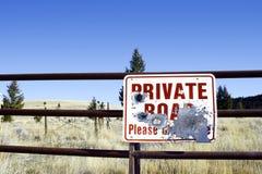 разрушенный знак стоковая фотография
