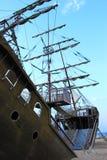 разрушенный корабль Стоковые Фото