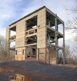 Разрушенный отход здания и продукции Стоковые Изображения RF
