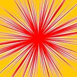 Разрывать radial выравнивает влияние взрыва dutone Starburst, sunbur Стоковая Фотография