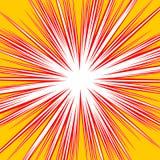 Разрывать radial выравнивает влияние взрыва dutone Starburst, sunbur Стоковое Фото