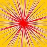 Разрывать radial выравнивает влияние взрыва dutone Starburst, sunbur Стоковое Изображение