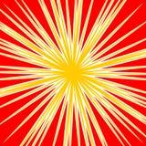 Разрывать radial выравнивает влияние взрыва dutone Starburst, sunbur Стоковое фото RF