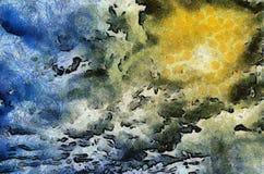 Разрыв в облаках иллюстрация штока