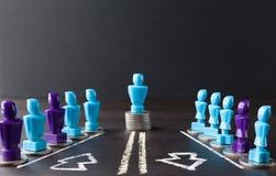 Разрыв между заработной платой и концепция равенства полов Стоковые Фото