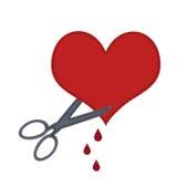 разрыв сердца открытый ваш Стоковая Фотография RF