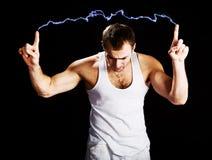разрядка электрическая Стоковые Изображения RF