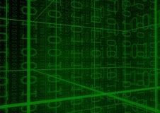 разряды двоичного числа предпосылки Стоковое фото RF