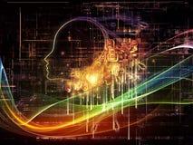 Разум цифров Стоковые Изображения