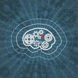 Разум шестерен Вектор Eps10 Стоковое Изображение