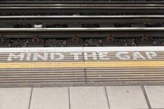 разум london зазора Стоковая Фотография RF