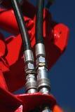 разъем гидровлический Стоковые Фотографии RF