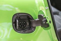 Разъем питания электрического автомобиля Стоковые Фотографии RF