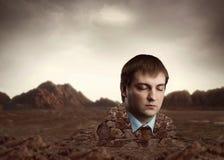 Разъем человека головной кирпичи Стоковая Фотография