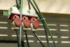 разъем электрический Стоковая Фотография RF