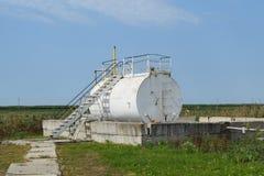 Разъединение барреля нефти Стоковое фото RF