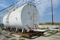 Разъединение барреля нефти Стоковые Фотографии RF
