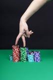 разыгрыш перстов соединяет женщин s Стоковое фото RF