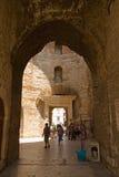 Разделение - дворец императора Diocletian стоковые изображения