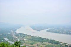 Разделение реки Стоковая Фотография RF