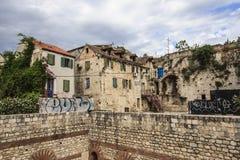 Разделение, Хорватия Стоковое Фото