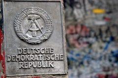 Разделенный Берлин: Последний знак Стоковое фото RF