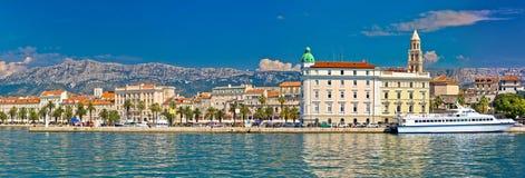 Разделенный взгляд Riva портового района панорамный Стоковая Фотография RF