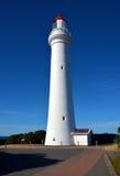 Разделенный маяк пункта стоковая фотография