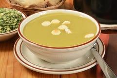 Разделенный суп гороха Стоковое Изображение RF