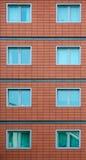 Раздел кирпичного здания Стоковое фото RF