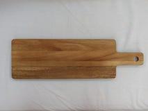 Разделочная доска древесины акации Стоковое Изображение RF