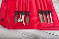 Разделочные ножи Стоковая Фотография
