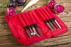 Разделочные ножи Стоковое фото RF