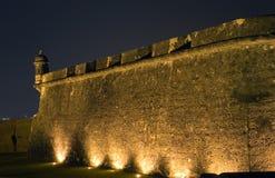 Раздел El Morro в старом Сан-Хуане Пуэрто-Рико Стоковое Фото
