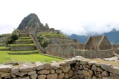 Раздел Machu Picchu Стоковое Изображение RF